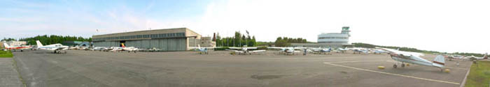 Historic Helsinki-Malmi Airport celebrated its 70th anniversary in May 2008.